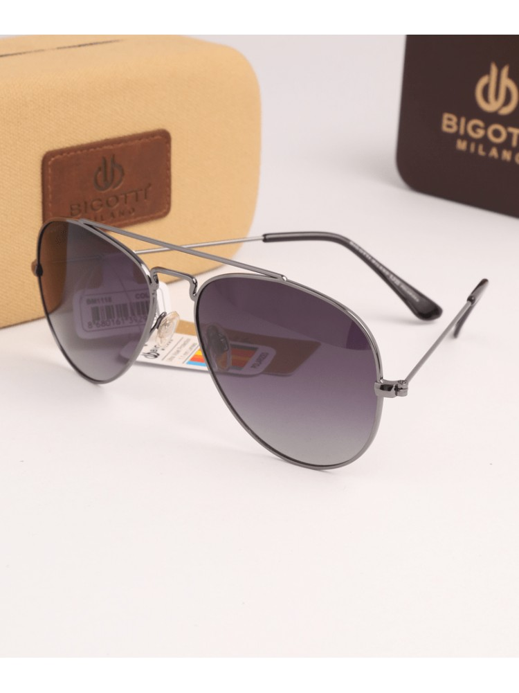 1e563428bb60cc MEN SUNGLASSES BIGOTTI MILANO BM 1118-1 - Kara